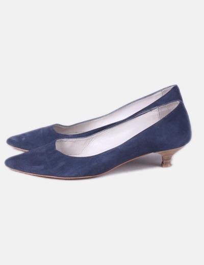 aacb89a17 NoName Zapato azul marino con tacón (descuento 85%) - Micolet