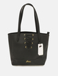 Bolso negro lace up Guess