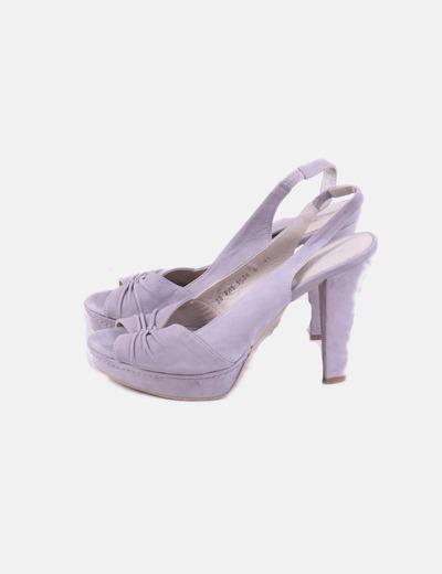Zapato tacń gris