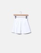 Falda mini blanca Sense