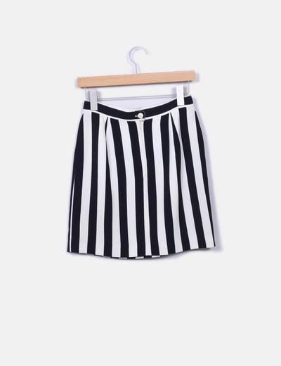Minifalda rayas