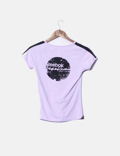 Camiseta lila sport
