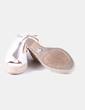 Sandales blanches compensées Castañer