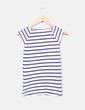 Top lino rayas marineras Zara