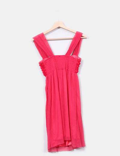 Barbarella Robe Rose Fushia Reduction 56 Micolet