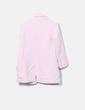 Chaquetón rosa texturizada Zara