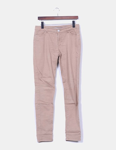 Pantalón camel Denim Co.