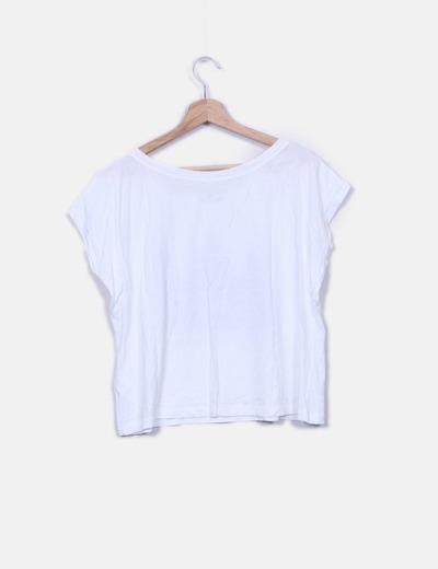 Camiseta blanca print urbanikart