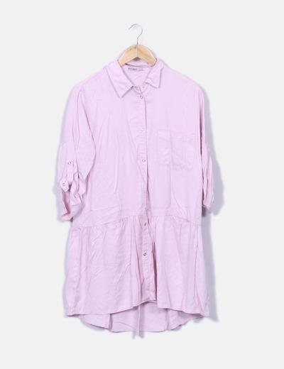 Zara Abito blusa rosa chiaro (sconto 66%) - Micolet 518aacb561c