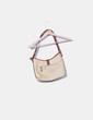 Bolso rafia bicolor Ralph Lauren