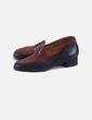 Zapato mocasín bicolor Paco Herrero