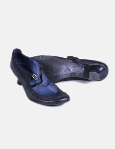 c09903d5f9d Nemonic Zapato negro con hebilla (descuento 89%) - Micolet