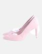 Zapato rosa maquillaje Stradivarius