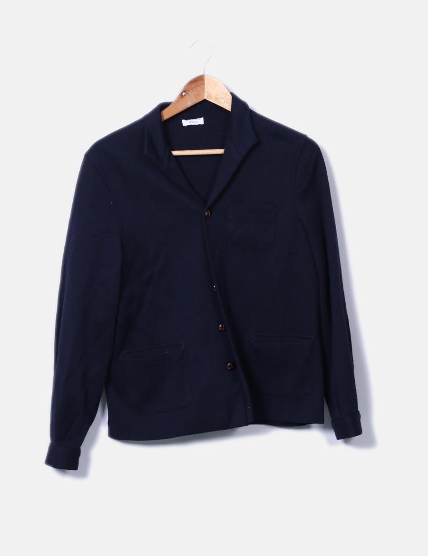 Mujer baratos Abrigos tricot marino de azul Neck amp; Neck y