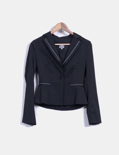 Adolfo dominguez blazer negra descuento 85 micolet for Abrigos adolfo dominguez outlet