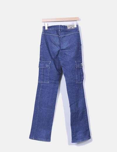 Pantalon vaquero con bolsillos