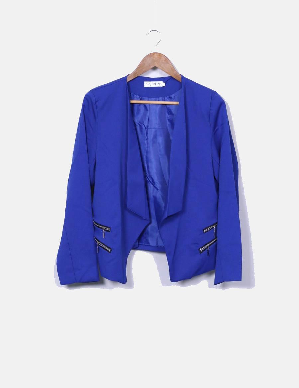 y de Blazer cremalleras baratos azul NoName Mujer klein online nnBvS