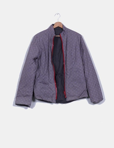 Chaqueta impermeable reversible