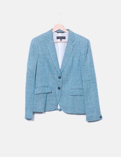 Blazer turquoise fil RAG & BONE