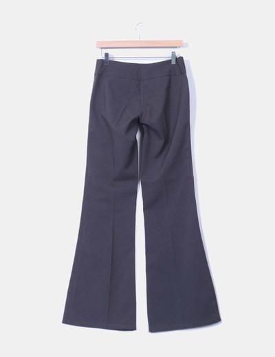 Pantalon gris oscuro de vestir
