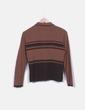Conjunto chaqueta y jersey punto marron NoName