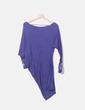 Vestido azul con abalorios Thannac