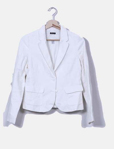 Blazer blanca Zara
