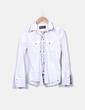 Camisa blanca combinada manga larga Ys Girls