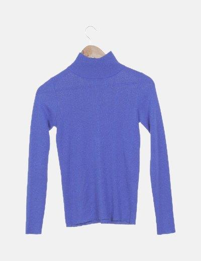 Jersey azul glitter