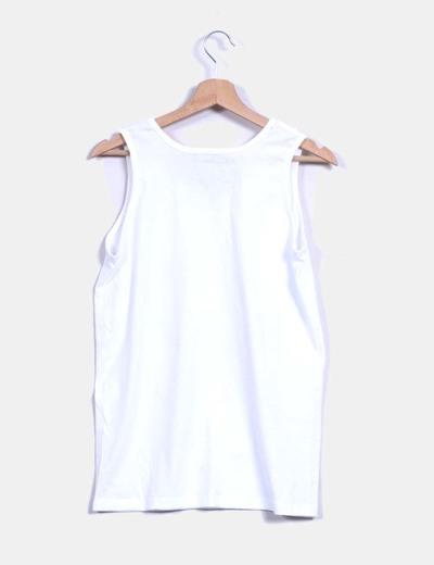 Camiseta blanca print medusas