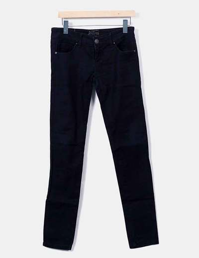 Black denim jeans Stradivarius