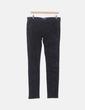 Jeans denim negro estampado Adidas