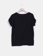 Camiseta negra con calavera bordada NoName