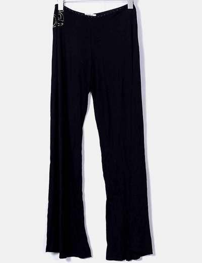 Pantalon noir droit Chloé