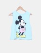 Top azul cielo print mickey Disney