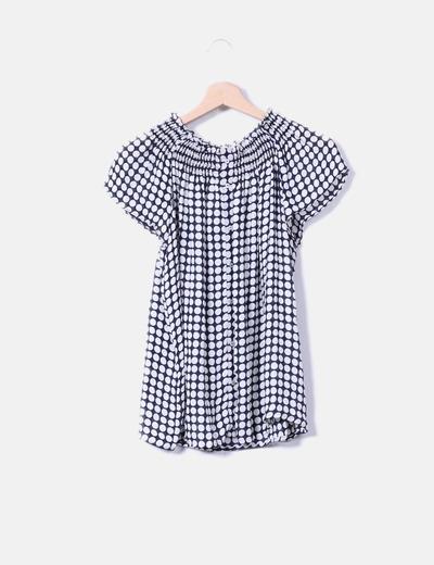 Zara Weiße Bluse mit nackten Schultern (Rabatt 74 %) - Micolet 8608d6f241