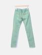 Pantalón verde denim Miss Sporty
