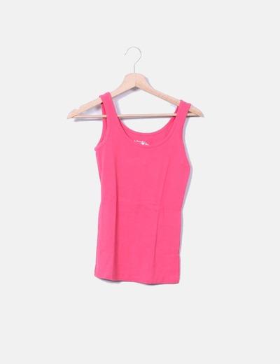 6c6d3f99e11f5 Primark Camiseta tirantes rosa (descuento 88%) - Micolet