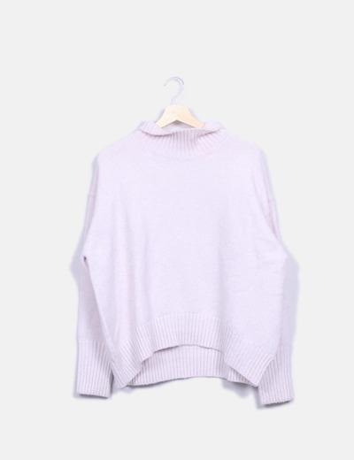 Jersey rosa palo oversize