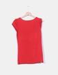 Camiseta roja combinada con tul H&M