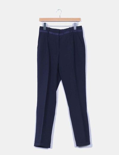 Pantalón chino azul marino Yera