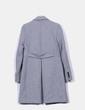 Abrigo gris básico Trafaluc