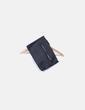 Bolso negro de mano con cremallera dorada Primark
