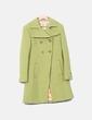 Abrigo verde texturizado Miss Sixty