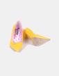 Zapato amarillo acharolado Mustang