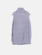 Top tricot gris cuello vuelto Easy Wear