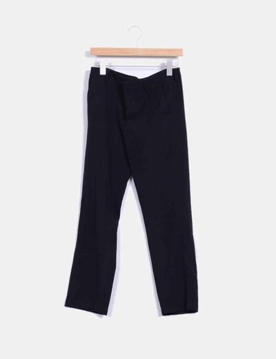Pantalón recto negro Parfois