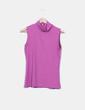 Camiseta rosa con cuello vuelto Pimkie