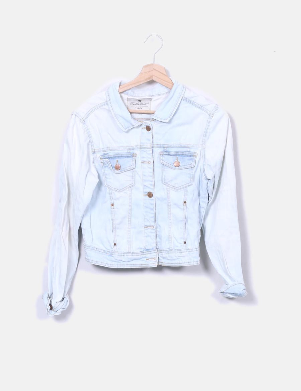 0f63f856f179d azul baratos de claro Chaquetas vaquera y Mujer online Abrigos XXrq6