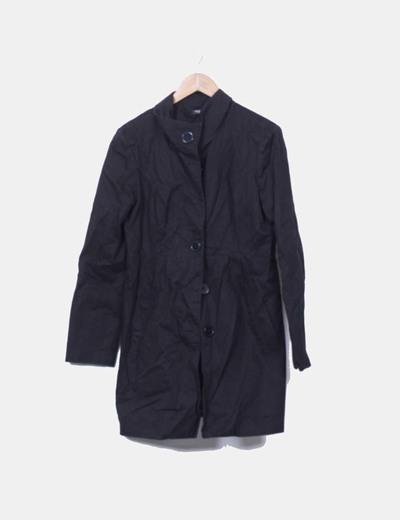 Abrigo negro La Redoute